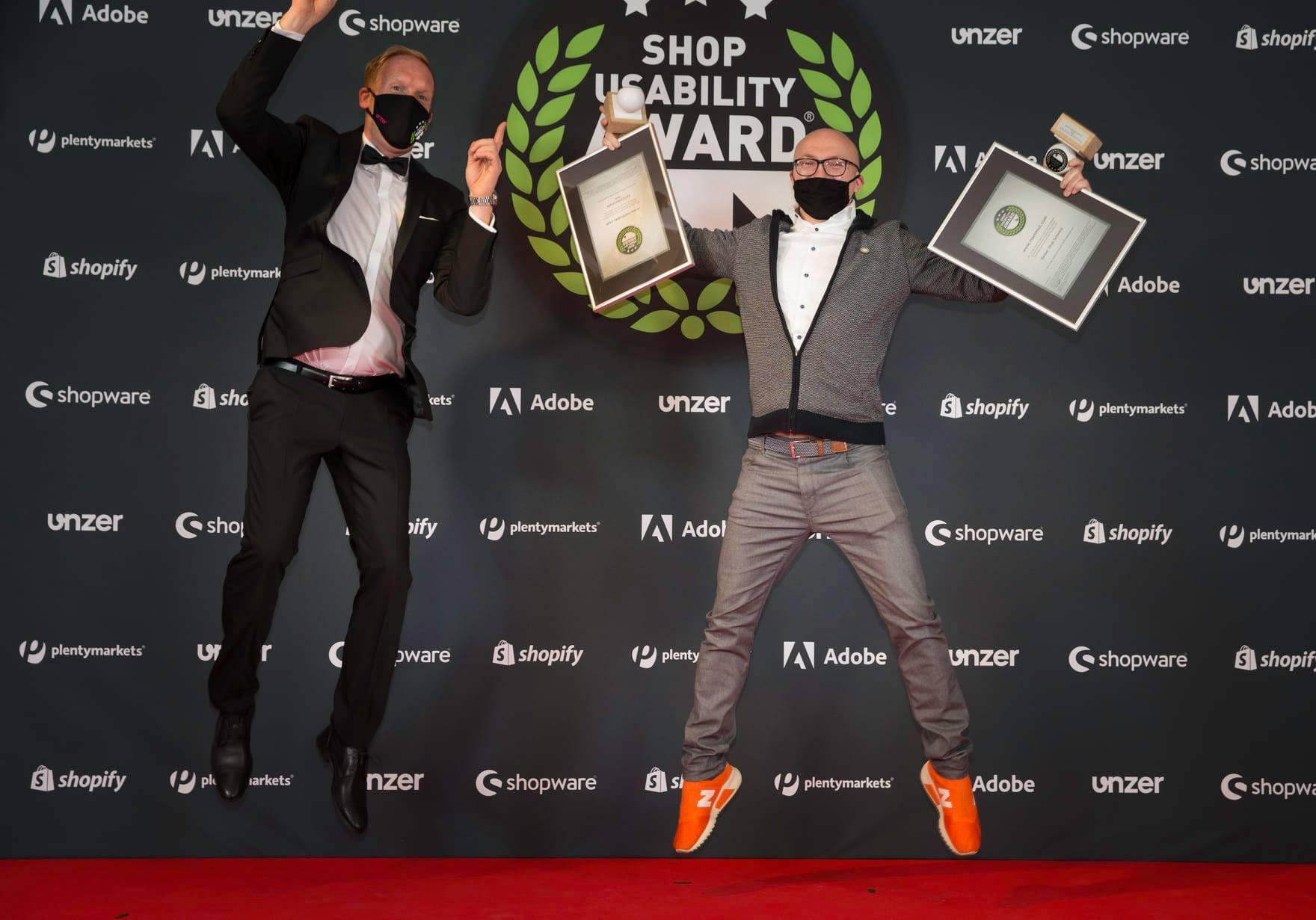 Hallhuber und Mammut gewinnen Shop Usability Award 2020