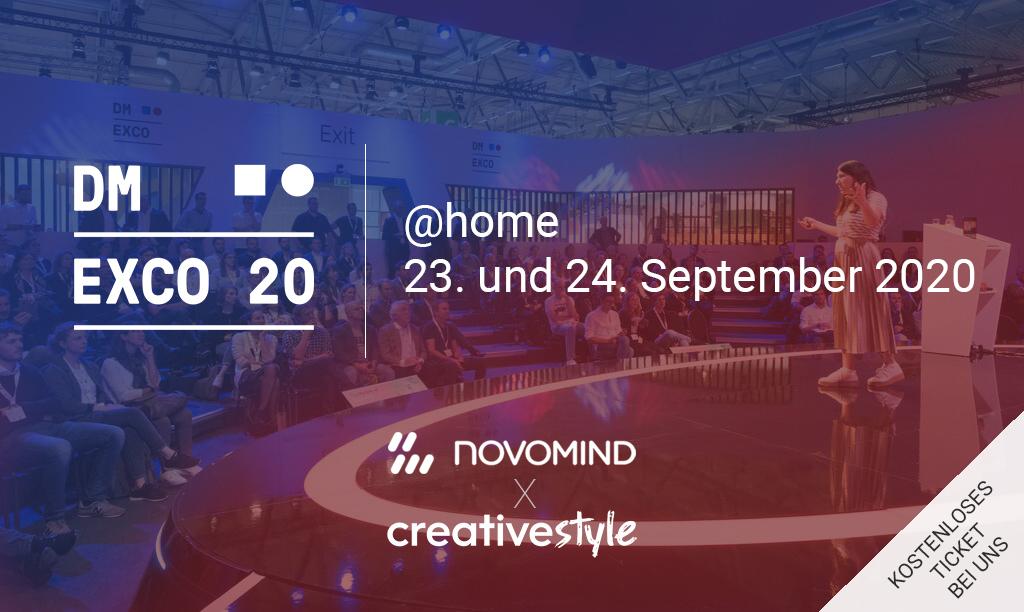 creativestyle auf der dmexco@home 2020
