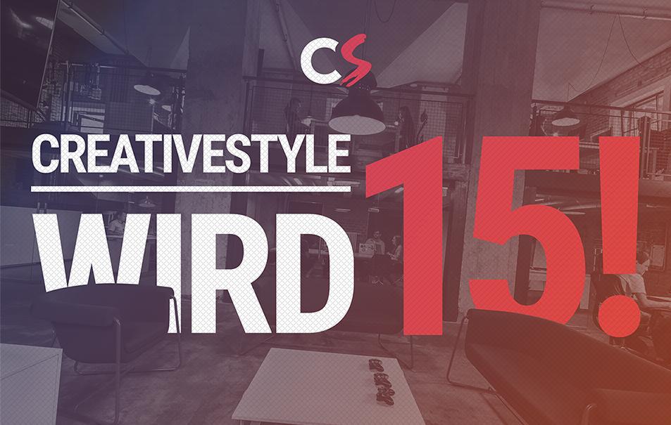 creativestyle wird 15!