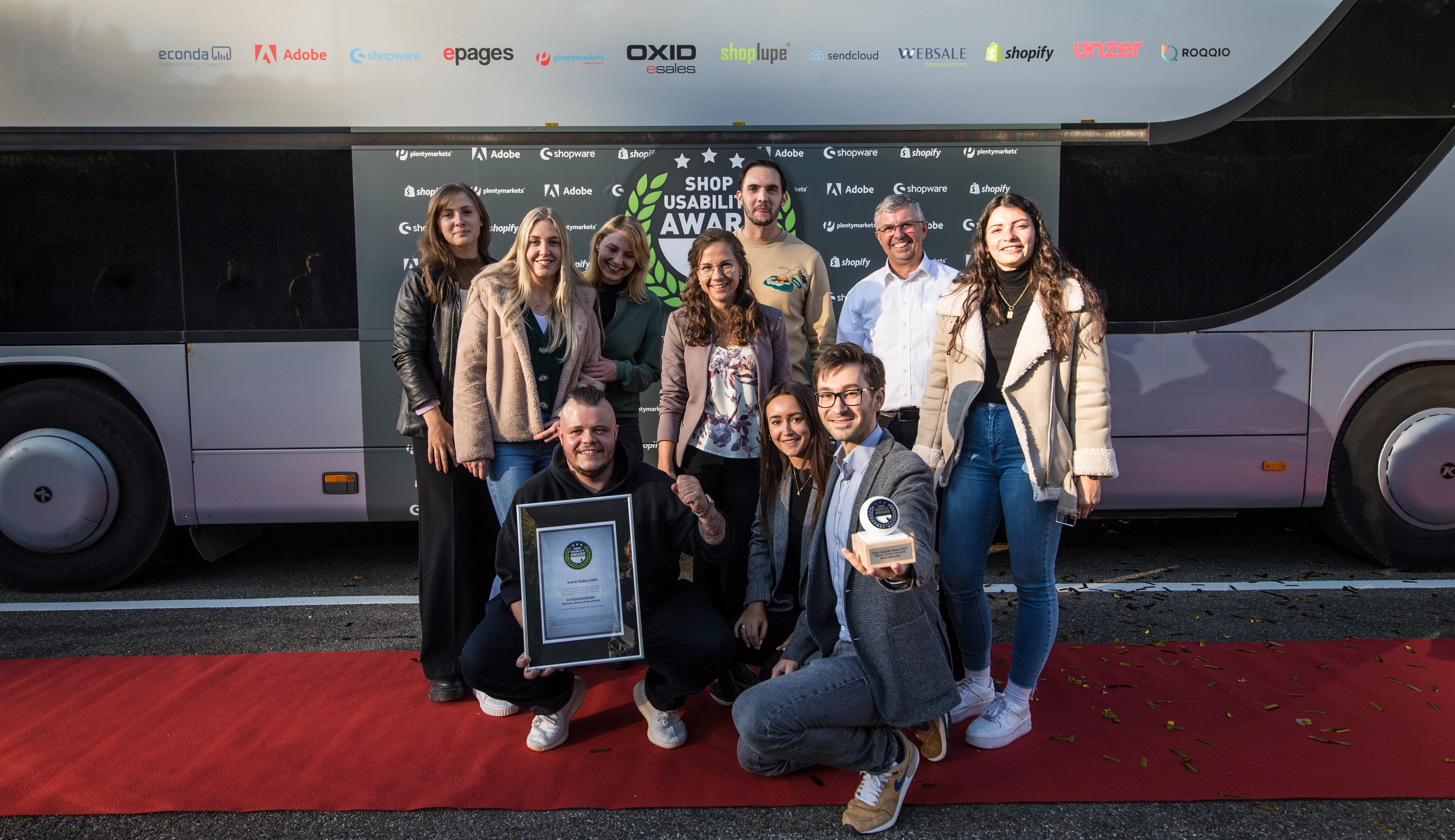 Shop Usability Award 2021: Content Commerce führt HAKA und creativestyle zum Sieg